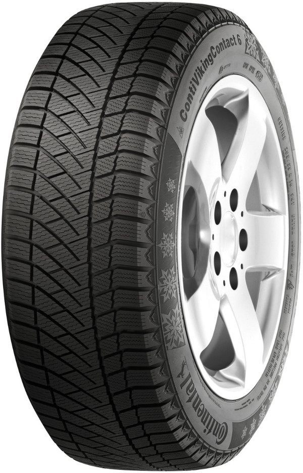 CONTINENTAL VIKING CONTACT 6  / 195 / 55 / R15 / 89T / winter / 100051