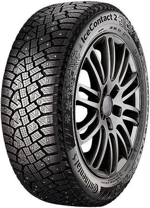 CONTINENTAL ICE CONTACT 2 KD  / 225 / 55 / R17 / 97T / winter / 100318
