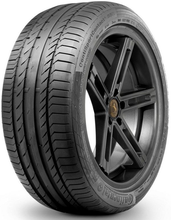 CONTINENTAL SPORT CONTACT 5 SSR  * / 225 / 40 / R19 / 89Y / summer / 200524