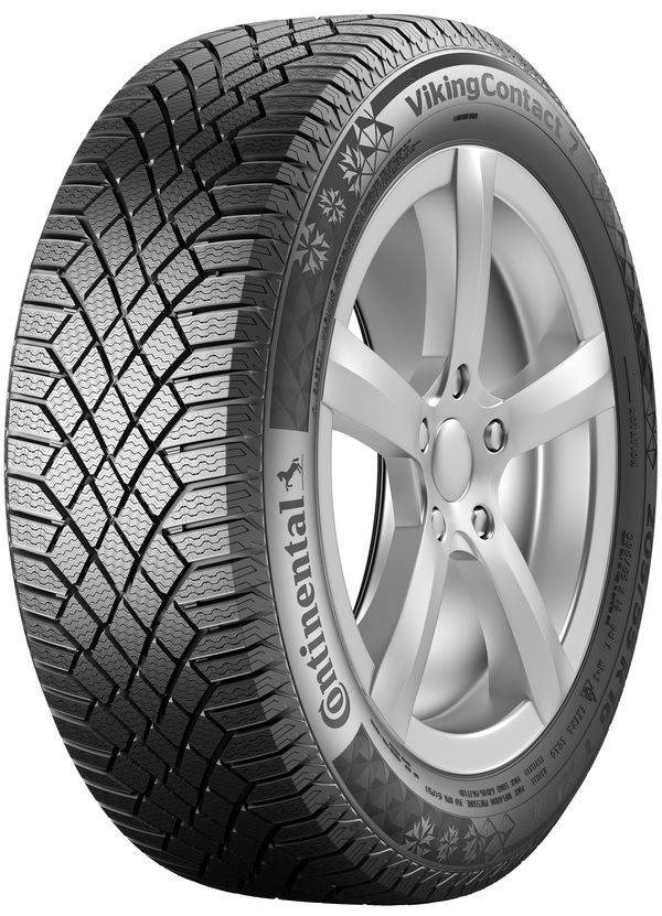 CONTINENTAL VIKING CONTACT 7  / 155 / 65 / R14 / 75T / winter / 101089